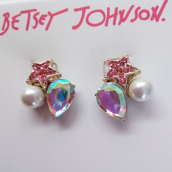 923b9f746f3a8 Betsey Johnson New 3-Piece Earrings NWT